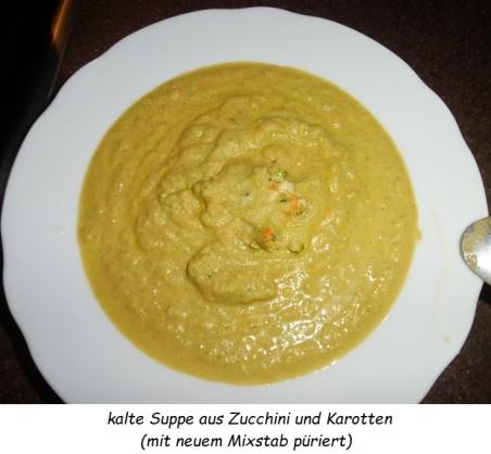 2019.08.06 - kalte Zucchini-Karotten-Suppe 01